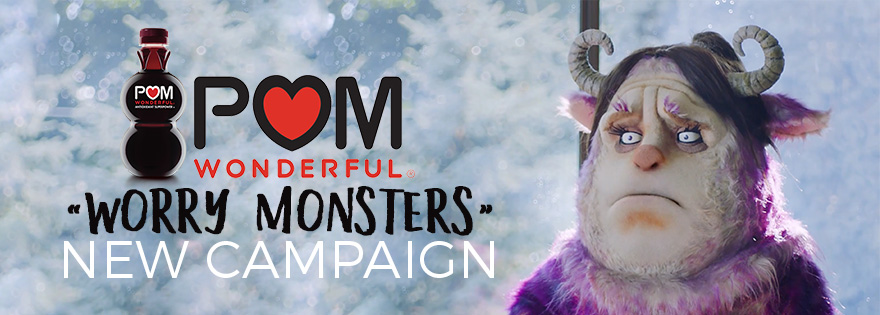 POM Wonderful Launches Multi-Million Dollar Marketing Campaign to Scare Away the Worry Monsters