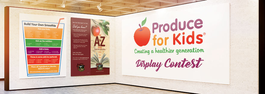 Produce for Kids Hosts Retail Display Contest for National Nutrition Month