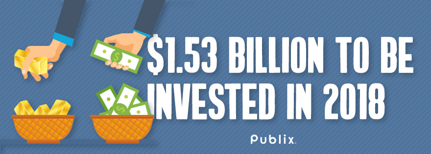 Publix CEO & President Todd Jones Comments on Fourth Quarter 2017: Source Reports $1.53B Investment Plan for 2018