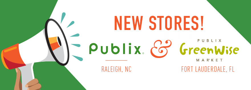 Publix Opens New Store in Raleigh and a GreenWise Market in Fort Lauderdale