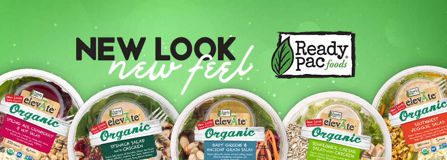 Ready Pac Foods Introduces New elevĀte™ Salad Packaging, Renews Focus on Organic