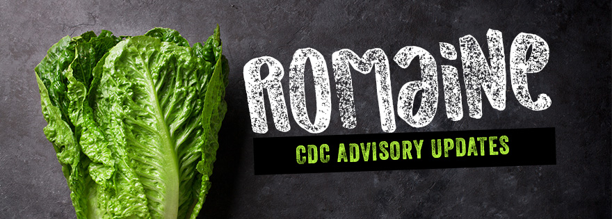 The CDC Updates Advisory for Tainted Romaine Origin