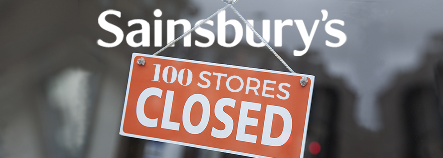 Sainsbury's to Close 100 Stores