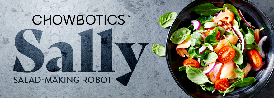 Grocers Signing On for Sally the Salad-Making Robot