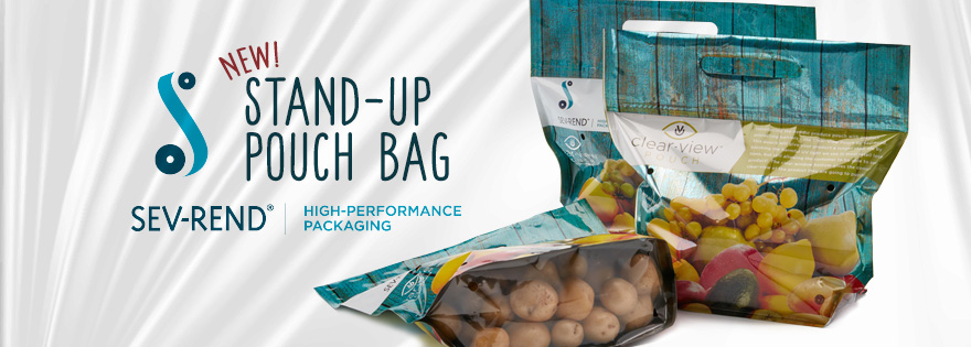 Sev-Rend Introduces Stand-Up Pouches to Packaging Offerings