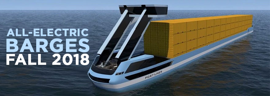 Port-Liner to Launch All-Electric 'Tesla' Ships in Fall 2018