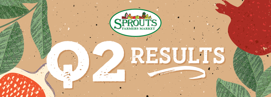 Fresh Produce Boosts Sprouts Farmers Market Sales in Second Quarter Reports
