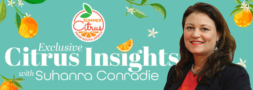 Suhanra Conradie of Summer Citrus from South Africa Shares Valuable Lessons After 10 Years in Citrus