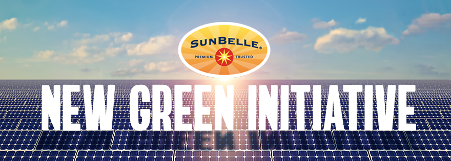 Sun Belle Announces New Green Initiative at Jessup, Maryland, Distribution Center