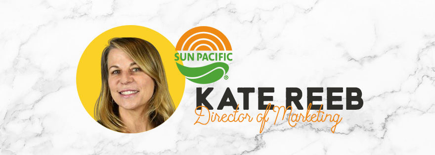 Industry Veteran Kate Reeb Joins Sun Pacific as New Director of Marketing