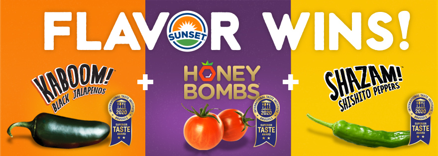 SUNSET® Earns Three Superior Taste Awards for Phenomenal Flavor by the International Taste Institute