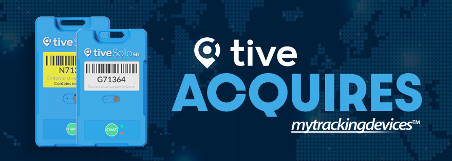 Tive Acquires MyTrackingDevices