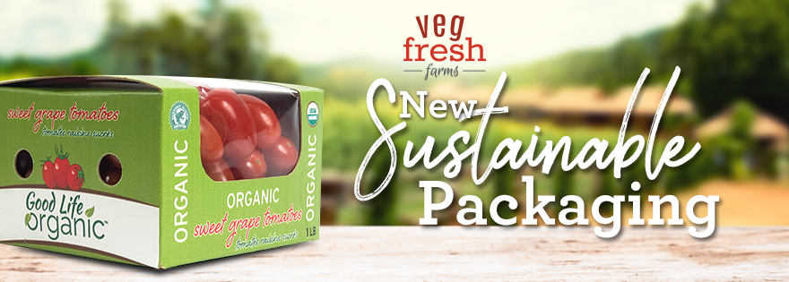 Veg-Fresh Farms Debuts New Sustainable Packaging