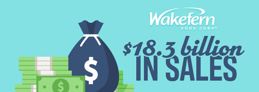 Wakefern Food Corp. Announces $18.3 Billion in Sales
