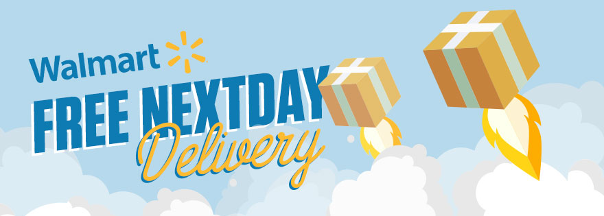 Walmart Announces Free NextDay Delivery