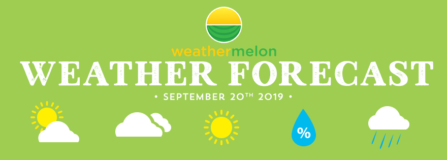 Weathermelon Weather Report - September 20, 2019
