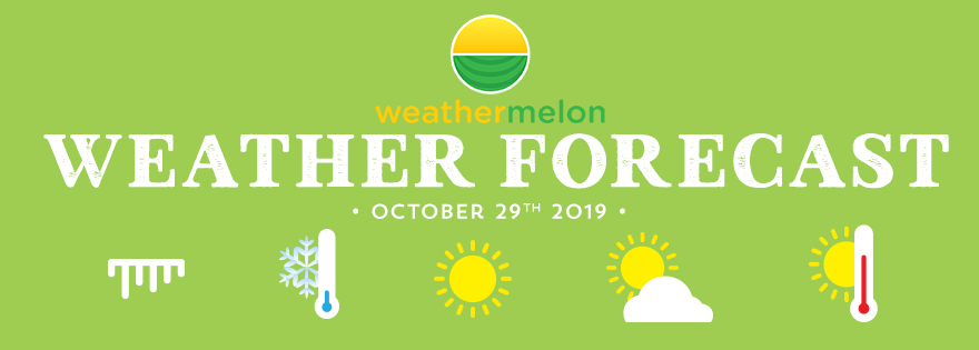 Weathermelon Weather Report - October 29, 2019
