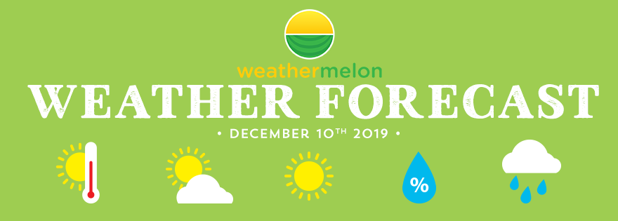 Weathermelon Weather Report - December 10, 2019