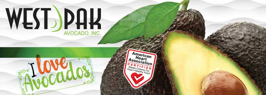 West Pak's New I Love Avocados Brand is Heart-Check Certified