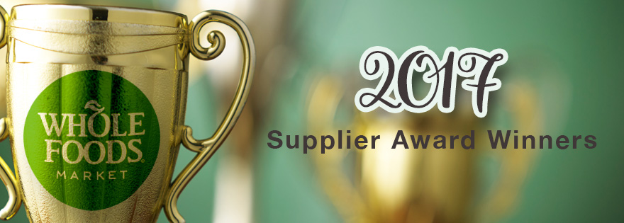 Whole Foods Market Honors 2017 Supplier Award Winners