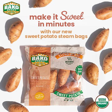 Make it Sweet in Minutes with Our New Sweet Potato Steam Bags — BakoSweet