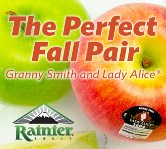 The Perfect Fall Pair, Granny Smith and Lady Alice: Rainier Fruit