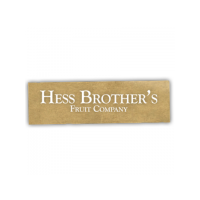 Hess Brother's Fruit Company