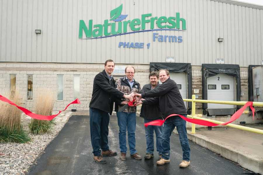 Late last week, NatureFresh™ Farms announced that it would be passing off the keys to its Phase one and two greenhouse to a new group of dedicated growers