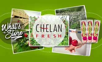 Chelan Fresh Features Increasingly-Popular Rockit Apple