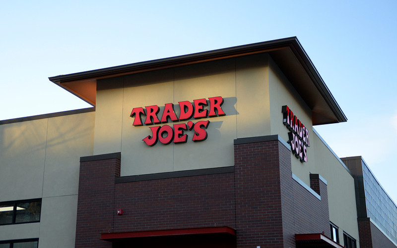 Local news sources have suggested the mystery specialty store could be a Trader Joe's, although representatives would not confirm or deny the rumors