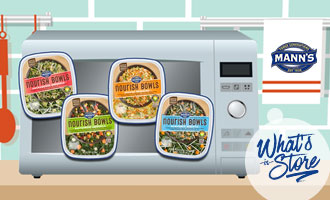 Mann Packing Showcases Innovative and Chef Cultivated Nourish Bowls™ Line