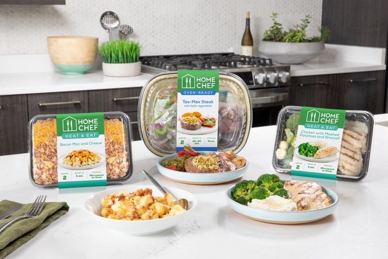 In partnership with Home Chef, Kroger is introducing a new pilot program with three new in-store meal kits