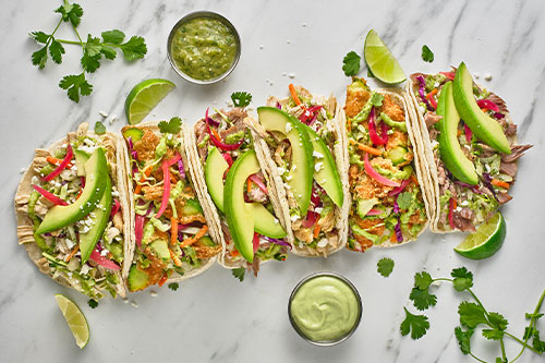 Attendees of the Super Bowl at Miami Hard Rock Stadium can try feasting on some delicious tacos topped with Avocados from Mexico