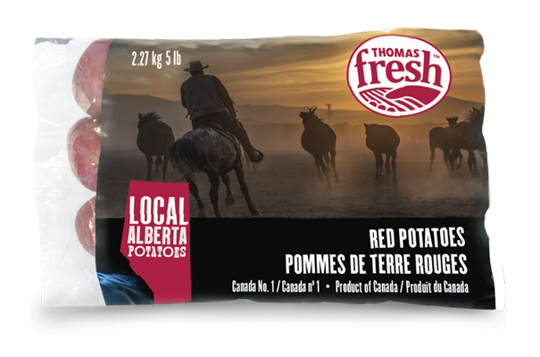 Thomas Fresh is in tune with evolving consumer needs by launching a new line of exclusively 'Alberta'-grown potatoes