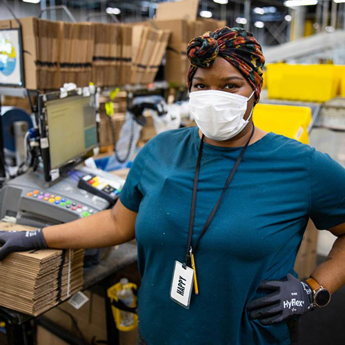 "Amazon is dropping another half billion ($500 million), this time as ""Thank You Bonuses"" to front-line workers who were with the company throughout the month of June (Photo: Amazon)"