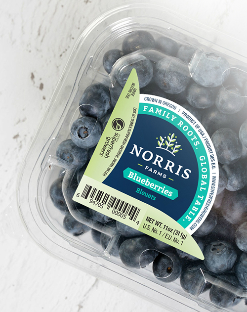 With harvest expected to start the week of June 9, Superfresh Growers® and Norris Farms® are gearing up to deliver premium blueberries and kiwi berries to the world
