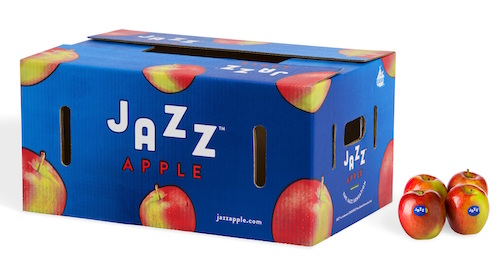 JAZZ™ Apple retail carton.