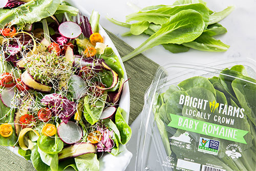 BrightFarms' locally grown salads debuted in Walmart's Ohio locations