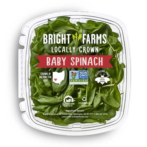 BrightFarms is offering its fresh product at select Walmart stores in Ohio, Pennsylvania, and West Virginia starting this October