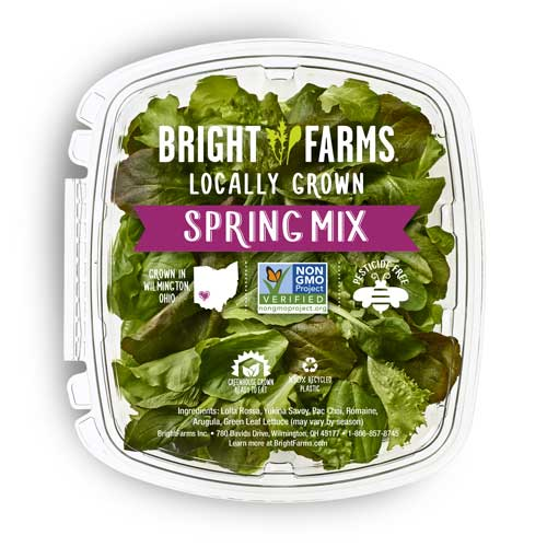 BrightFarms will be supplying Walmart stores with product that was grown at its 120,000-square-foot Wilmington, Ohio, commercial greenhouse