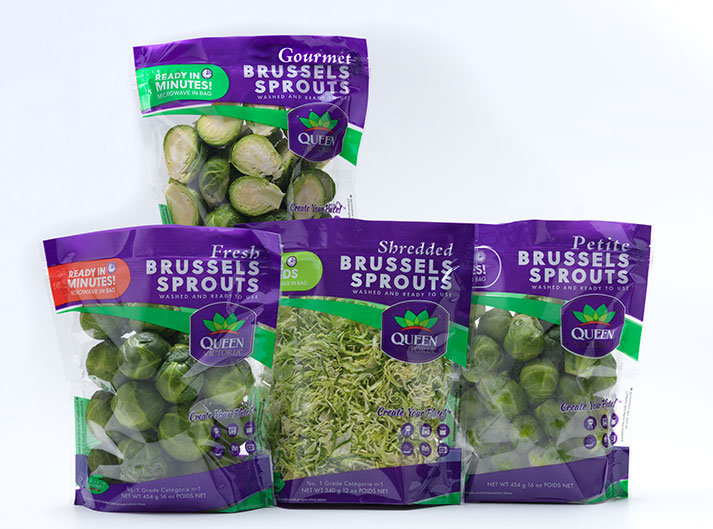 Ippolito Brussels Sprouts Product Line