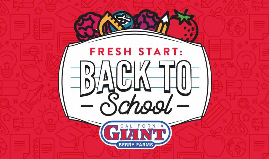 The berry company just wrapped up the summer with their Fresh Start promotion—targeting mothers of children headed to college and new college-age shoppers