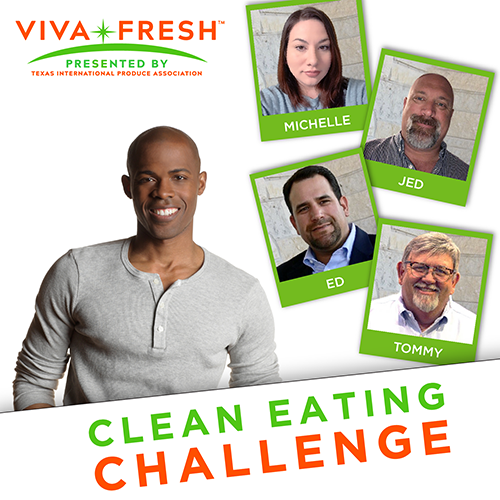 While the Clean Eating Challenge is already underway, there's no reason for us fellow produce advocates to not join Michelle, Tommy Wilkins, Ed Bertaud, and Jed Murray on our own clean eating journeys