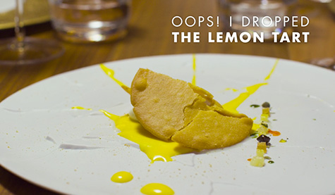 "Chef Massimo Bottura's ""Oops! I Dropped the Lemon Tart"""