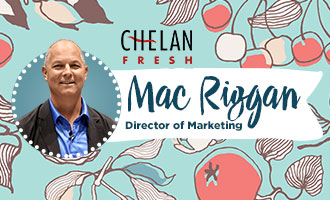 Chelan Fresh's Mac Riggan Talks Cherry and Apple Season