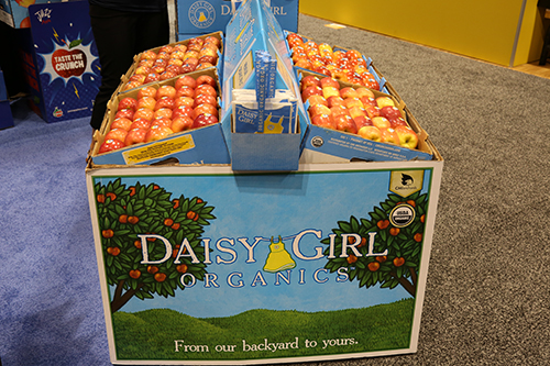 High-graphic Daisy Girl Organics™ displays allow for convenient merchandising