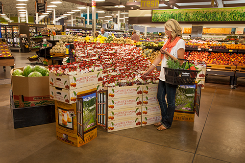 CMI Orchards offers Rainier variety cherries through its Nature's Candy brand