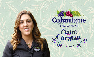 Columbine Vineyards' Claire Caratan Gives Us a Tour of the Company's Exclusive Proprietary Grapes