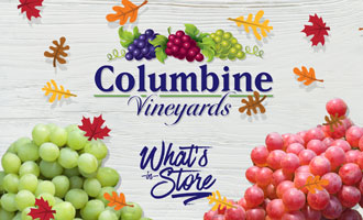 Columbine Vineyards Welcomes Autumn With Holiday® Grape Kick Off and CoVi Kitchen Recipes