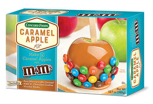 The new Caramel Apple Kit is a smaller version of their original product